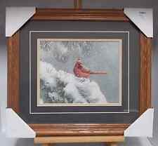 December Dusk-Cardinal by Susan Bourdet