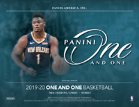 2019/20 Panini One and One  Basketball One Hobby Box Random Team Break #2