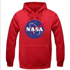 NASA Print Men's Pullover Hoodie Unisex Lovers Hooded Sweatshirt T-Shirt Gifts