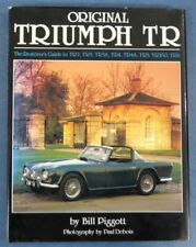 Original Triumph TR by Bill Piggott Hardback