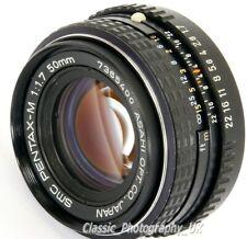 SMC Pentax-M 1:1.7 50mm F1.7 Prime Lens for Pentax-K 35mm Film SLR & DIGITAL SLR