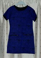 Dorothy Perkins Ladies Short Blue Dress With Stretch ~ Size 8