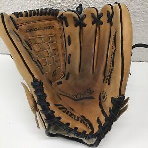 "Mizuno GFN 1201 Professional Model 12"" Leather Baseball Glove RHT R/H Thrower"