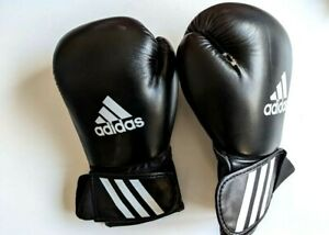with defect Adidas Boxing Gloves Speed 50 Adult Sparring 12oz training black men