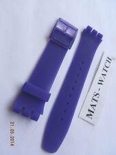 Swatch + banda de silicona + New Gante + asuov 100 Lacquered Purple + nuevo/new