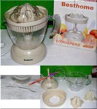 Besthome KT323KL Zitruspresse Citromatic 25 W Transparent Weis Creme 1,2L