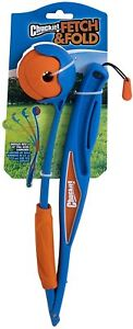 """Chuckit Fetch and Fold Ball Launcher for dogs- Unfolds to a 25"""" Launcher"""