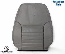 1999 2000 Ford Mustang GT V8 -Passenger Side LEAN BACK Leather Seat Cover Gray