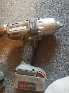 Ingersoll Rand 20v Impact Gun, drill and torch