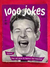 1000 JOKES Magazine #32 Fall 1944 Danny Kaye Cover