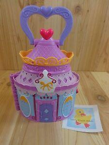 MY LITTLE PONY Portable Castle House Case Flip Card Rooms 2014 Hasbro