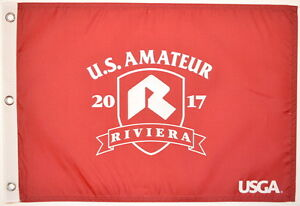 2017 US Amateur OFFICIAL (Riviera) SCREEN PRINT Flag