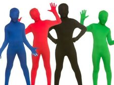 Kids Zentai Stretch Suit Lycra Bodysuit Halloween Boys Girls M-XL