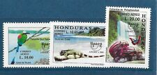 HONDURAS Sc C113-15 NH issue of 2001 - PROTECTING NATURE - ANIMALS-BIRDS
