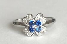 New Product  Sapphire and Diamond Ring in 9 ct gold