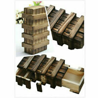 Wooden Puzzle Box With Secret Wood Gift Children for Toys Educational Teaser