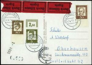 BRD 347 OR, 356 & 359 UR / Unterrand, Bildpostkarte, Eilzustellung #m496