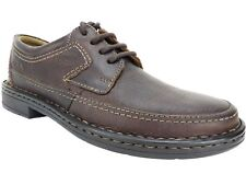 Clarks Men's Kyros Edge Lace-Up Oxfords Brown Leather Size 7.5 M