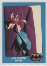 1989 Topps Batman Bonus Factory Set Glossy #T Acid-Squirting Flower Card 2u3