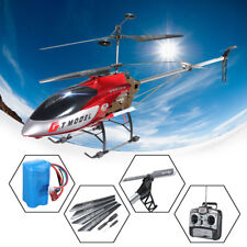 53 Inch Extra Large GT QS8006 2 Speed 3.5 Ch RC Helicopter Builtin GYRO Red US