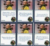 Star Trek TOS Archives & Inscriptions card #45 Korob all 17 different Variations