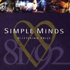 """SIMPLE MINDS """"GLITTERING PRIZE-THE BEST OF"""" CD NEW"""