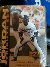 1995 Upper Deck Michael Jordan Tribute Set - Embossed Metal Collector Cards X2