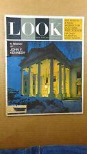 1963 Dec. 31, LOOK MAGAZINE Lyndon Johnson, JFK, Cardinal Cushing, Sandy Koufax