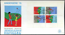 Netherlands Antilles 1978 Child Welfare M/S FDC First Day Cover #C26683