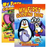 JUMBO MY FIRST Coloring Book | 2-Titles
