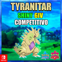 Tyranitar Ultra Shiny 6ivs Pokémon competitivo Sword & Shield Galar