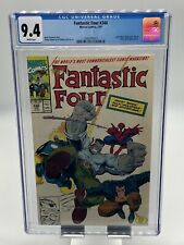 Fantastic Four #348 CGC 9.4 WP Spider-Man Wolverine Hulk Ghost Rider Appearance
