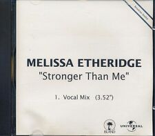 Melissa Etheridge - Stronger Than Me ° Broadcast PROMO-Single-CD ° WIE NEU ° RAR