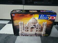 TAJ MAHAL - MB PUZZ 3D - ROYAL PALACE OF INDIA PUZZLE 1077 PIECES - NEW box tatt