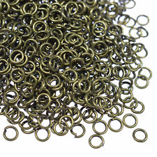 Wholesale Assorted Size 4/5/6/10mm Silver Plated Split Metal Super Jump Rings
