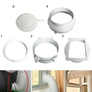 Exhaust Hose For Portable Air Conditioner AC Vent Adapter Connector Set
