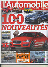 L'AUTOMOBILE MAGAZINE n°824 01/2015