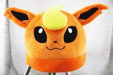 Pokemon Flareon Pyroli Flamara Plush Hat Great Gift Cosplay