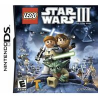 LEGO Star Wars III The Clone Wars Nintendo DS/3DS Kids Game 3