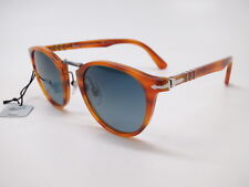 c134d35ce7 Persol PO 3108-S 960 S3 Brown w Light Blue Gradient Polarized Sunglasses