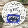 Superstar COACH * Appreciation Magnet * TEAM Spirit * Job well done * Pkgd USA