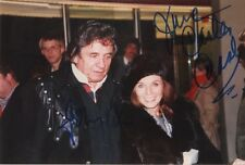 Johnny & June Carter Cash Autogramme signed 9x13 cm Bild
