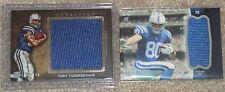 2012 TOPPS COBY FLEENER JUMBO ROOKIE JERSEY RELIC - INDIANAPOLIS COLTS RC