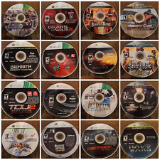 Assorted Tested Xbox 360 Games - Resurfaced. Many work on Xbox One.