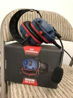 Sonim NH-IS PTT Over-The Head Hearing Protection Headset Black