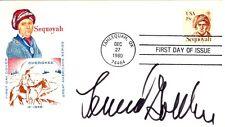 LEONARD J. GOLDBERG - FIRST DAY COVER SIGNED
