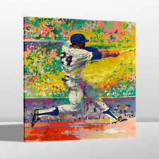 HD Print LeRoy Neiman Willie Mays Home Wall Art Decor Painting on Canvas 16x20