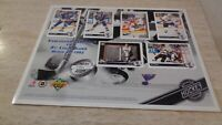 March 30, 1993 Upper Deck Vancouver Canucks VS St. Louis Blues Limited Ed. Sheet