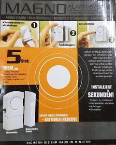 Magno Alarm-System - Sichert Haus, Büro oder Garage, Neu & OVP