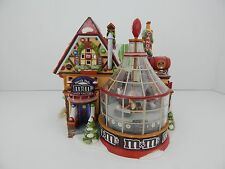 Dept 56 North Pole M&M's Candy Factory Factory #56773 New in Box Never Displayed